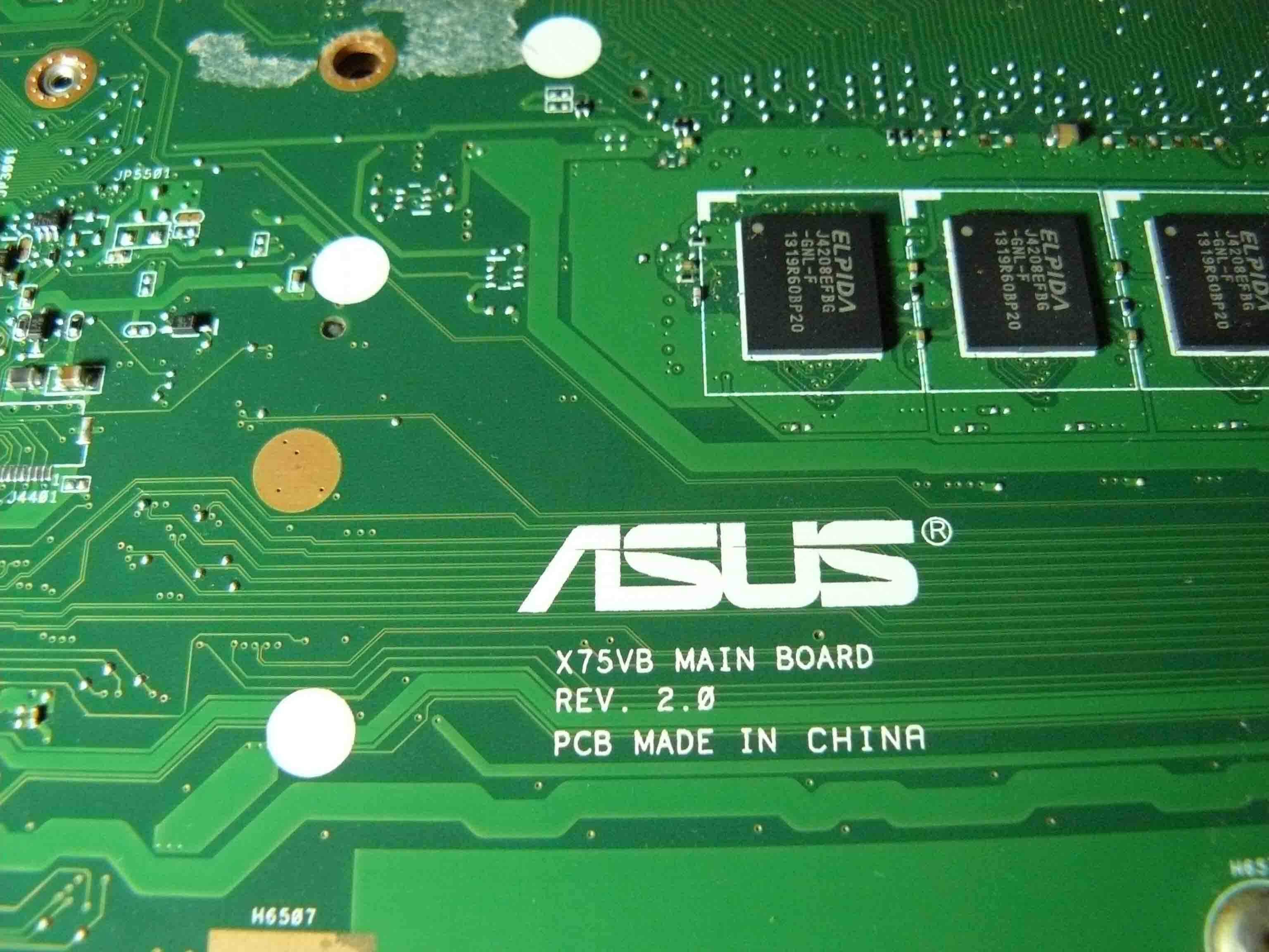 ASUS X75VCP bios bin + BOARDVIEW : • ورشة صيانة الحاسوب