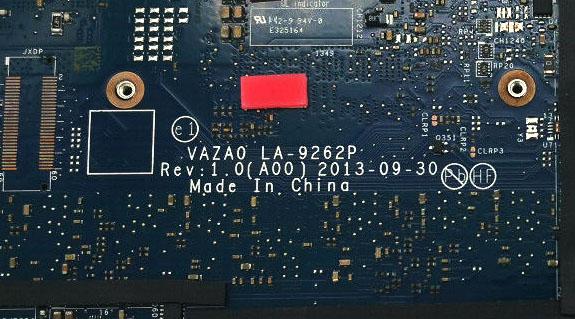T5XFM-Dell-XPS-12-9Q33-P20S-Motherboard-i7-4510U-0T5XFM-LA-9262P-VAZA0