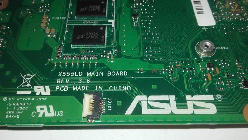 asus X555LD Main Board Rev. 3.6
