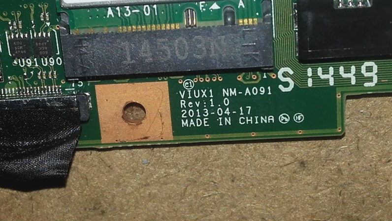 Motherboard-VIUX1-NM-A091