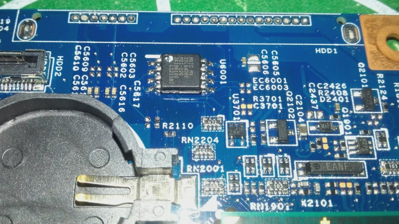 Acer Aspire V5-571G bios dump u6001