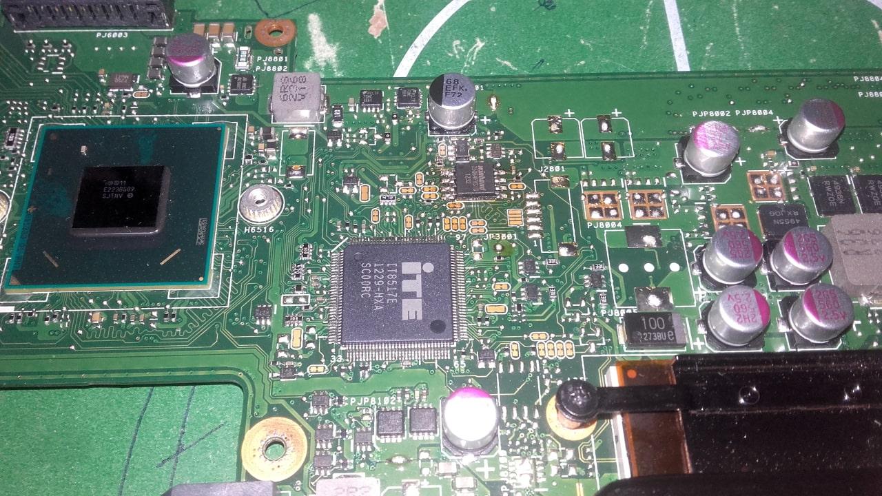 motherboard bios x401a