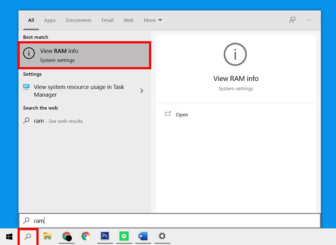 windows-search-ram